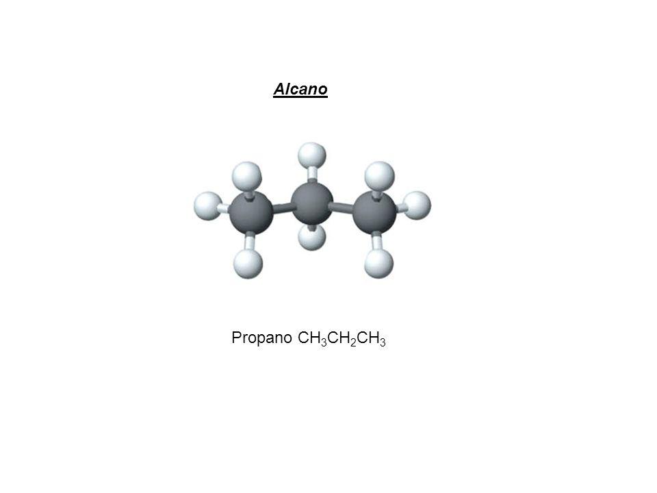 Propano CH 3 CH 2 CH 3 Alcano