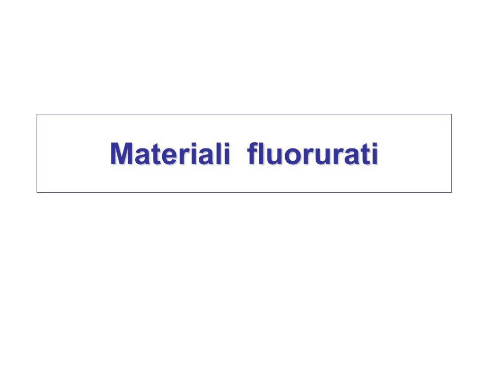 Materiali fluorurati