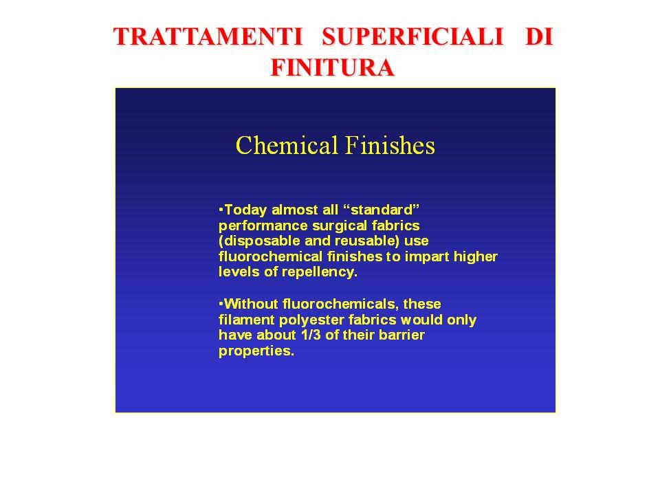TRATTAMENTI SUPERFICIALI DI FINITURA