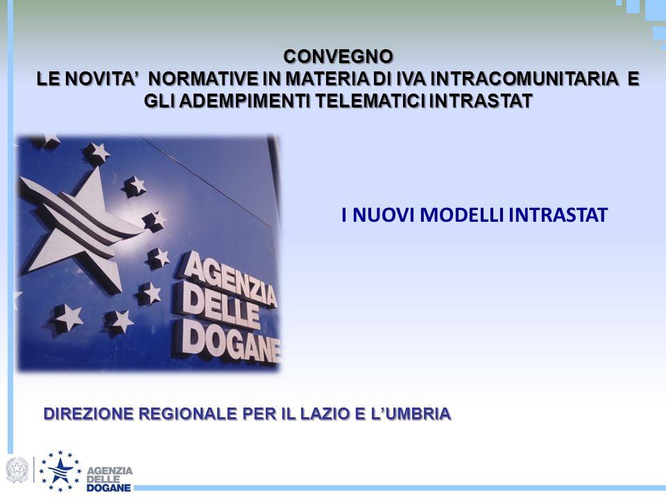 il soggetto passivo di imposta italiano dovra: Registrare lautofattura sia sul registro degli acquisti che delle fatture emesse INTRA 2 QUATER Compilare il modello INTRA 2 QUATER