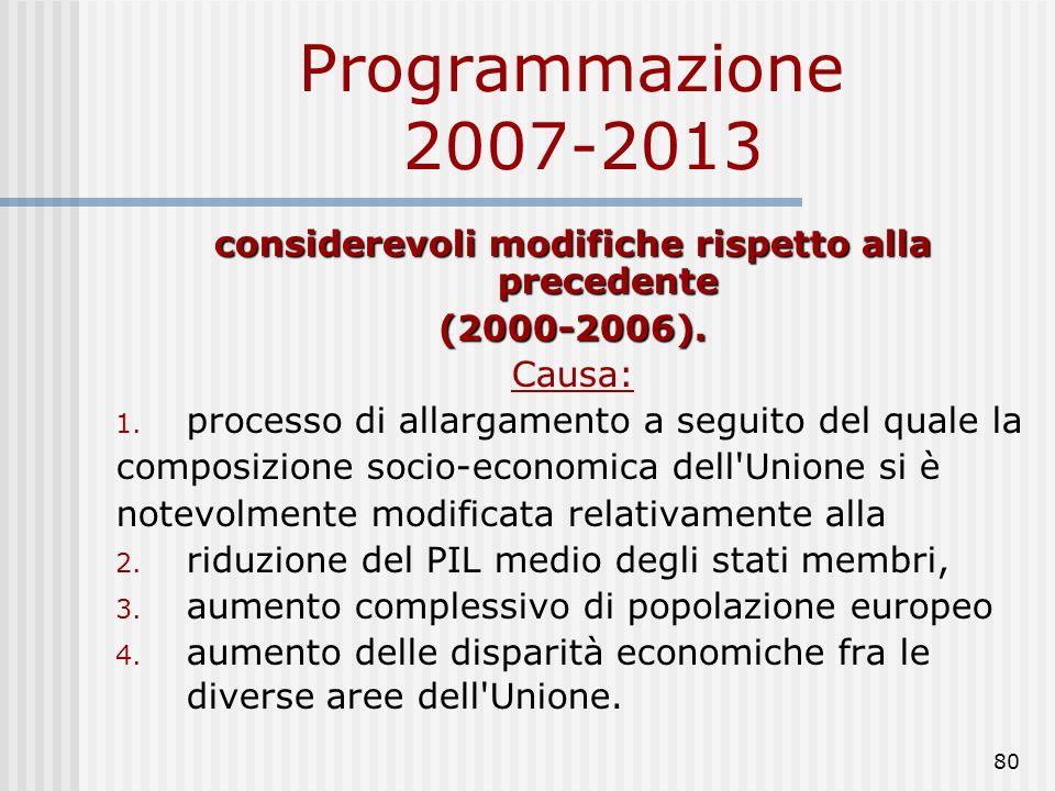 79 Programmazione 2007-2013