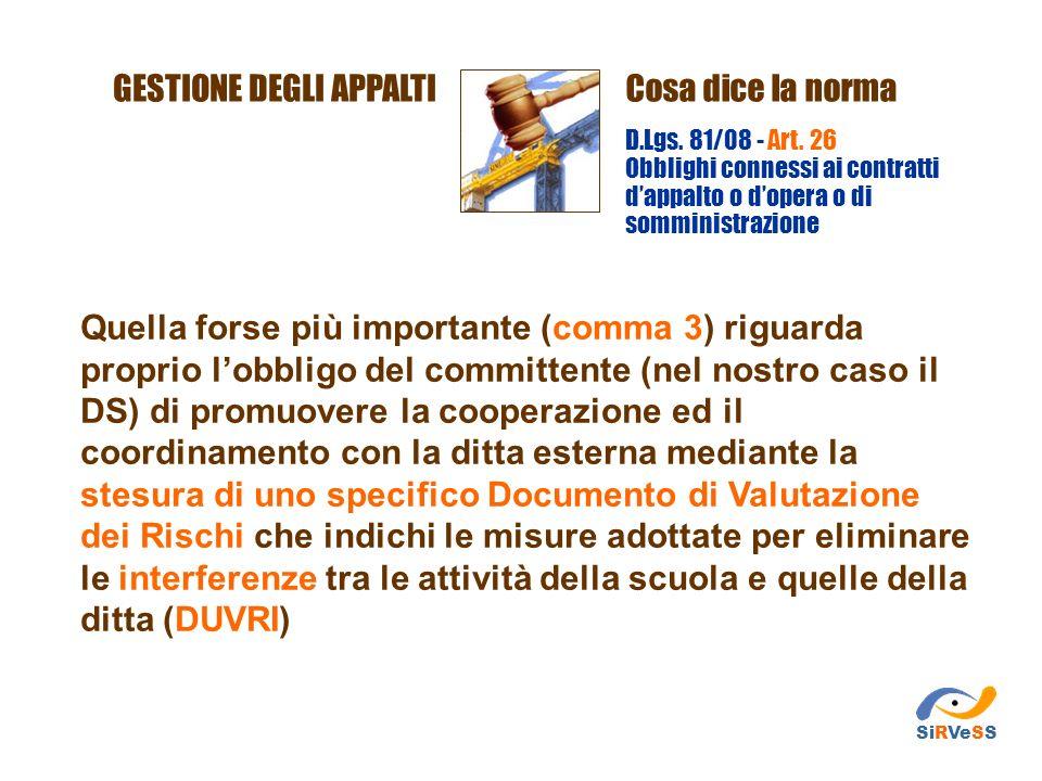 Quella forse più importante (comma 3) riguarda proprio lobbligo del committente (nel nostro caso il DS) di promuovere la cooperazione ed il coordiname