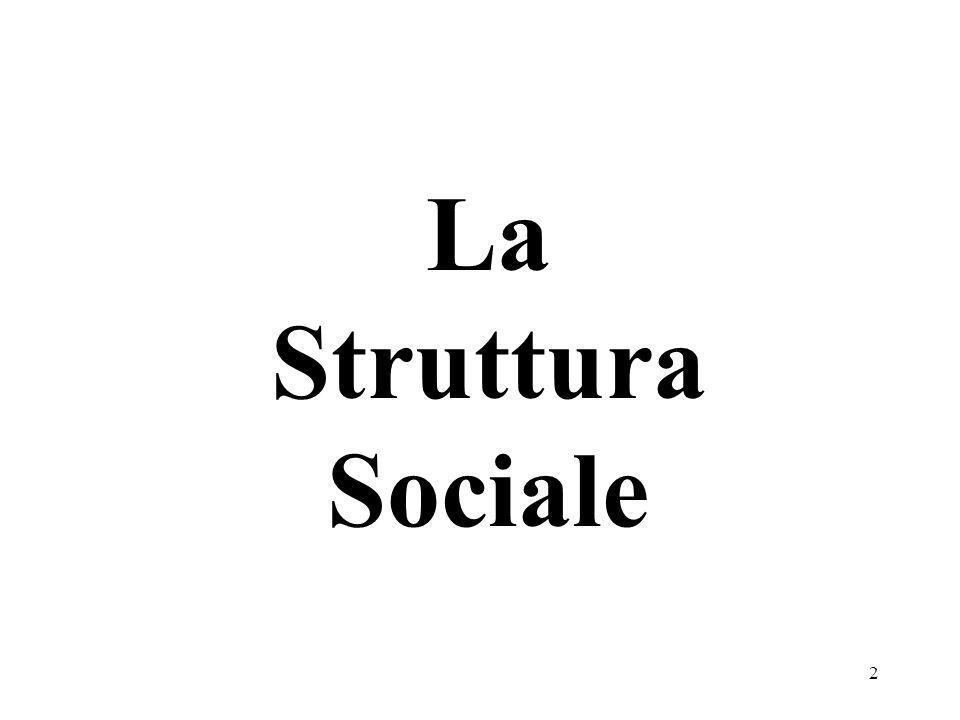 2 La Struttura Sociale