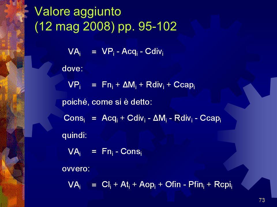 73 Valore aggiunto (12 mag 2008) pp. 95-102