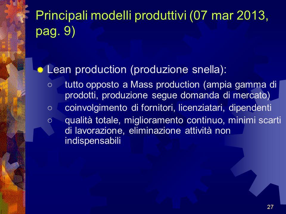 27 Principali modelli produttivi (07 mar 2013, pag.
