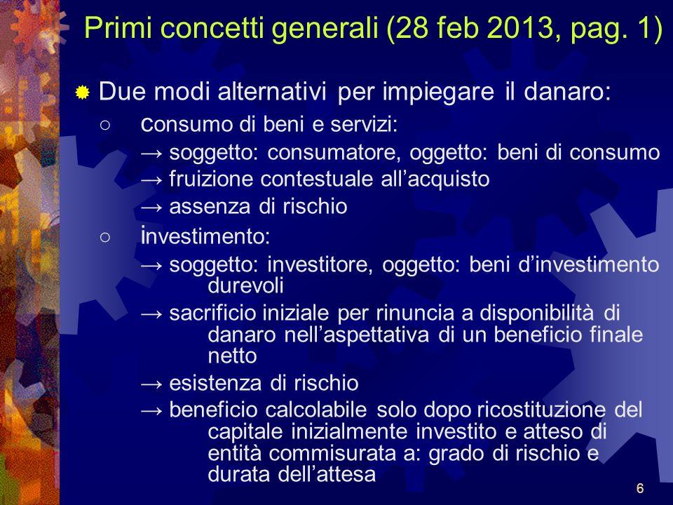 6666 Primi concetti generali (28 feb 2013, pag.