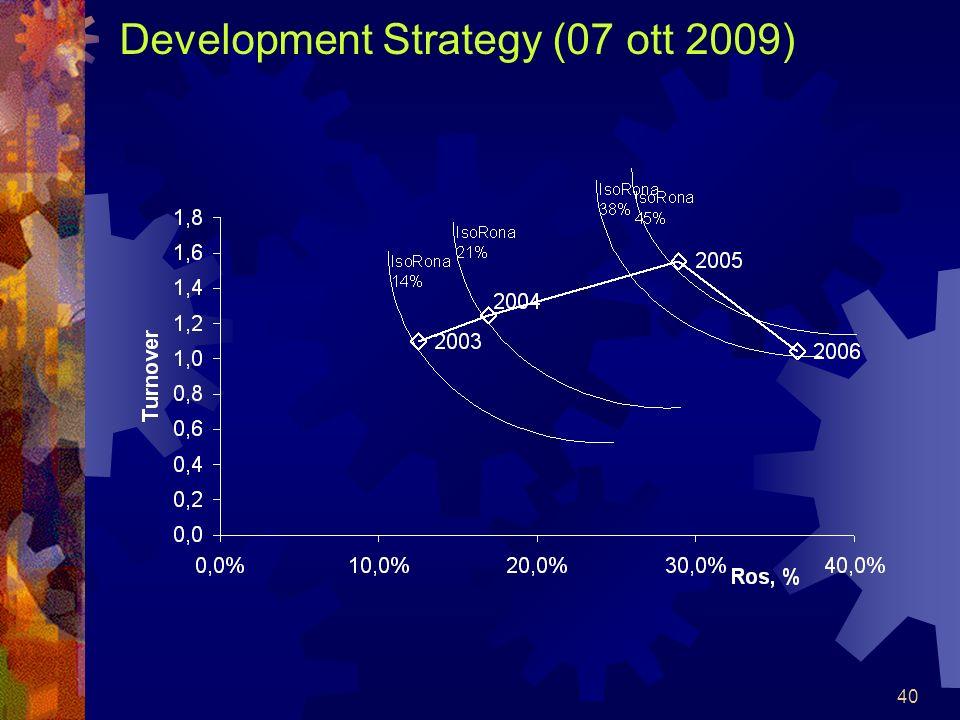 40 Development Strategy (07 ott 2009)
