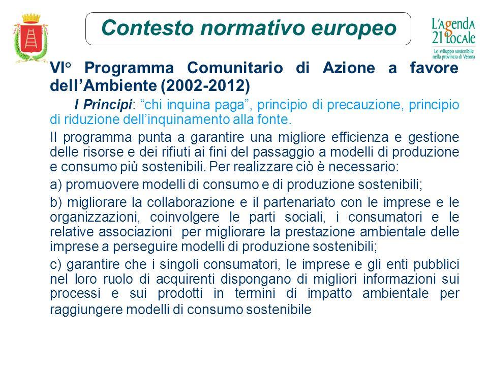 Il Progetto Campagna acquisti sostenibili 1.