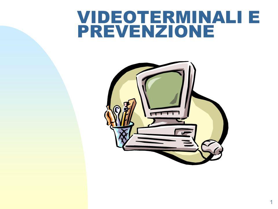 1 VIDEOTERMINALI E PREVENZIONE
