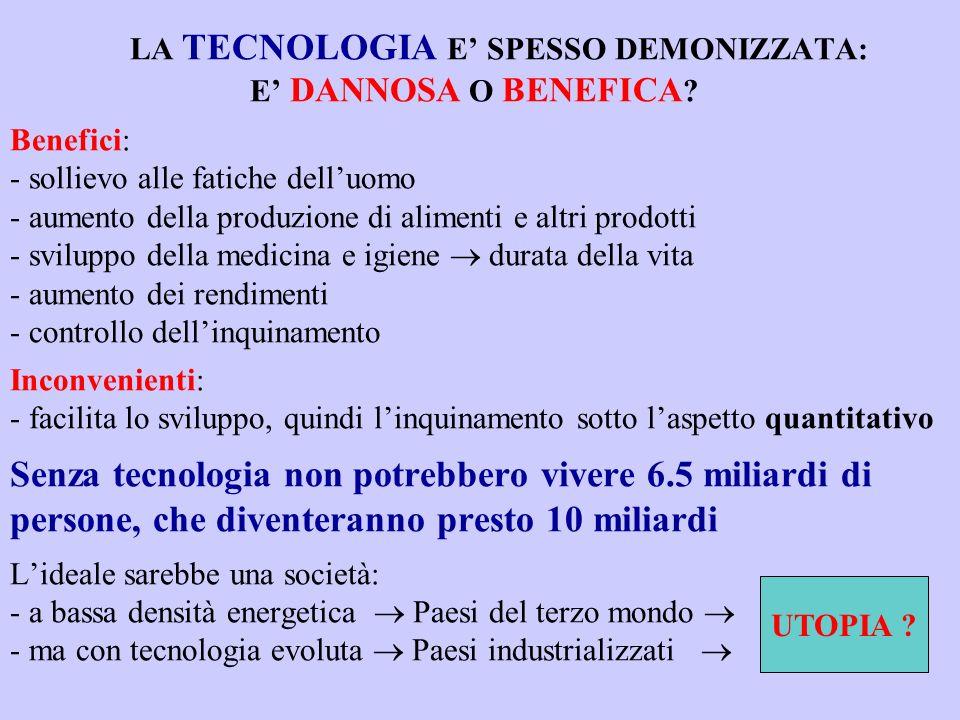 LA TECNOLOGIA E SPESSO DEMONIZZATA: E DANNOSA O BENEFICA .