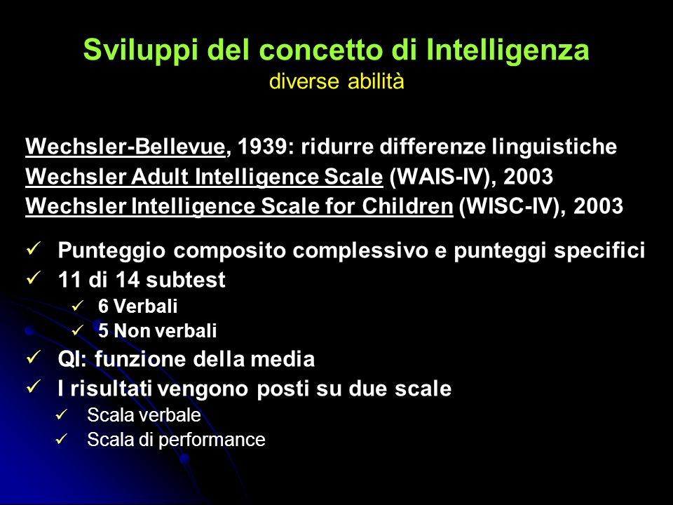 Intelligenze multiple Intelligenza Linguistica: è l intelligenza legata alle capacità di utilizzare un vocabolario chiaro ed efficace.