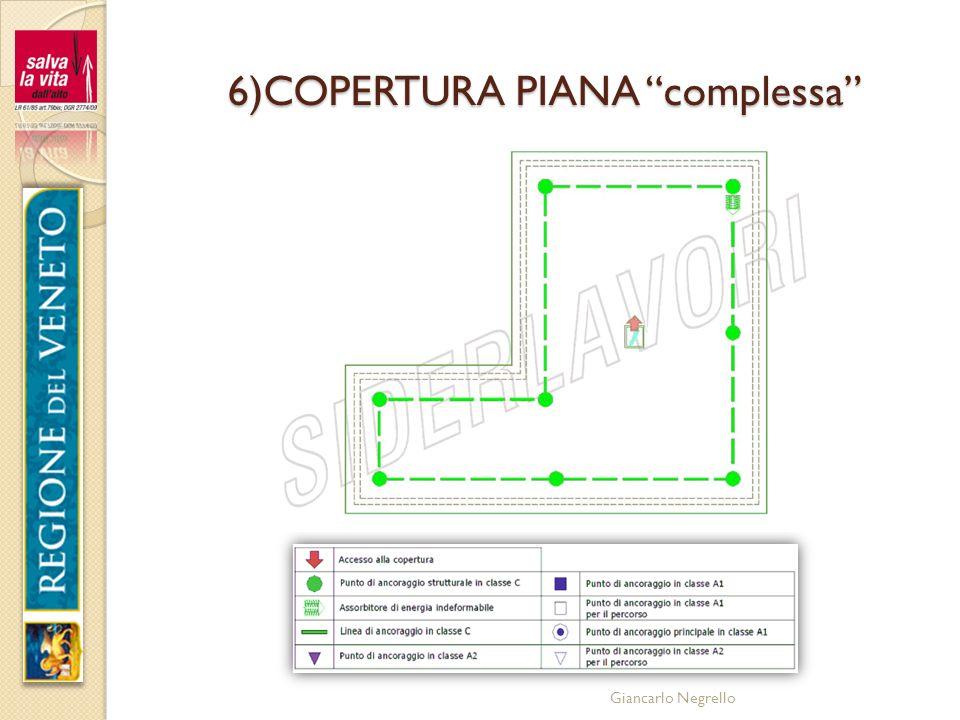Giancarlo Negrello 6)COPERTURA PIANA complessa