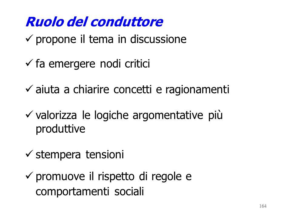 forma di ragionamento di argomentazione comune centralità del conflitto socio- cognitivo 163