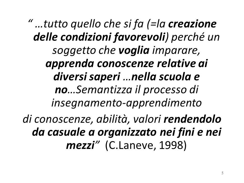 …AI MODELLI DELLA PROBLEMATICITÀ COGNITIVA: …..più marcata apertura alle rappresentazioni individuali della realtà…..(ad es.