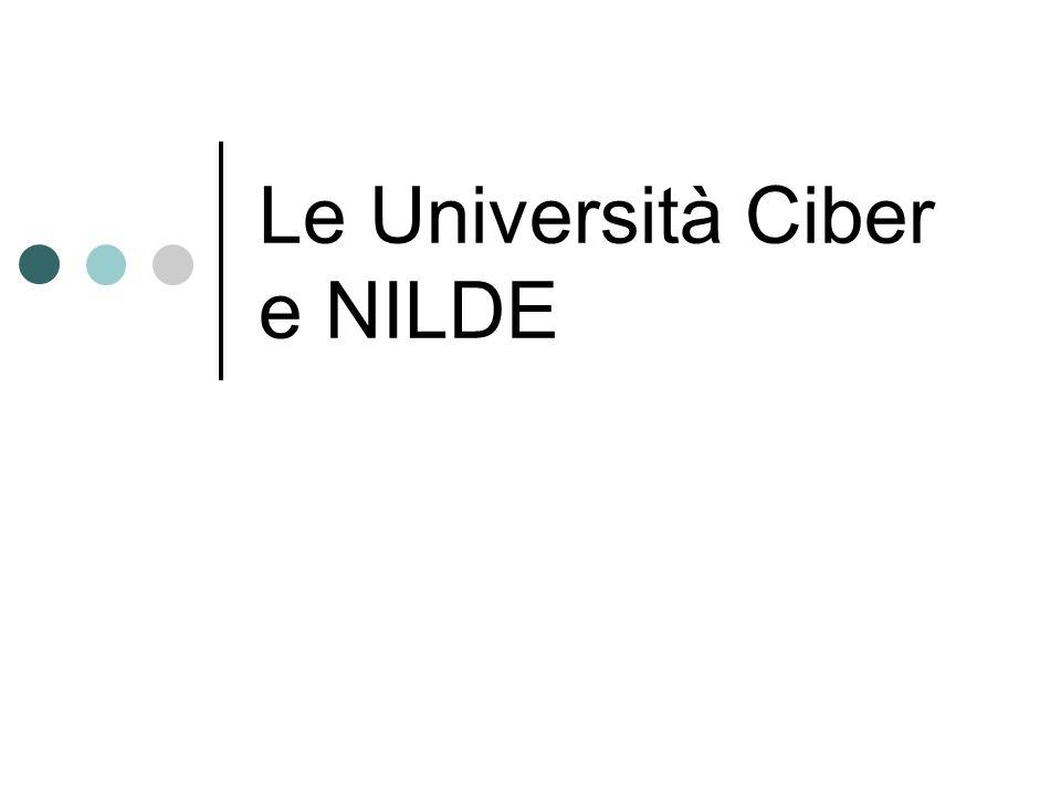 Le Università Ciber e NILDE
