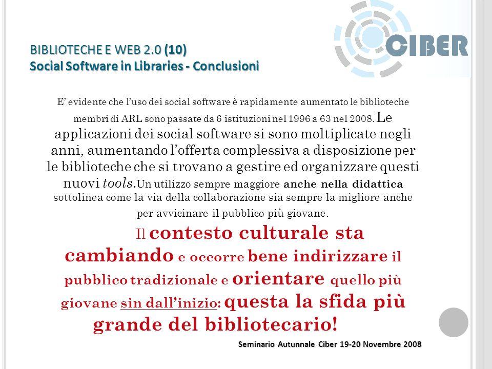 BIBLIOTECHE E WEB 2.0 (9) – Virtual Worlds http://mblog.lib.umich.edu/slum/