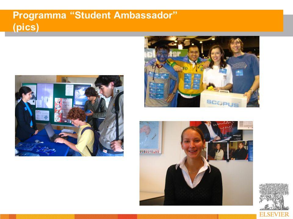 Programma Student Ambassador (pics)