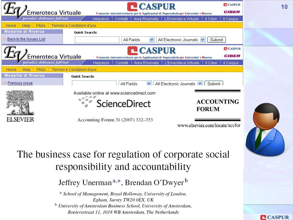 Carlo Maria Serio - c.serio@caspur.it 10