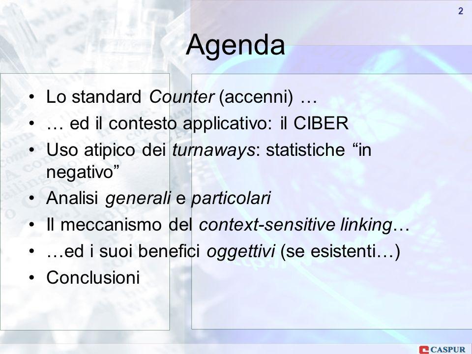 Carlo Maria Serio - c.serio@caspur.it 33 turnaways/accessiFT
