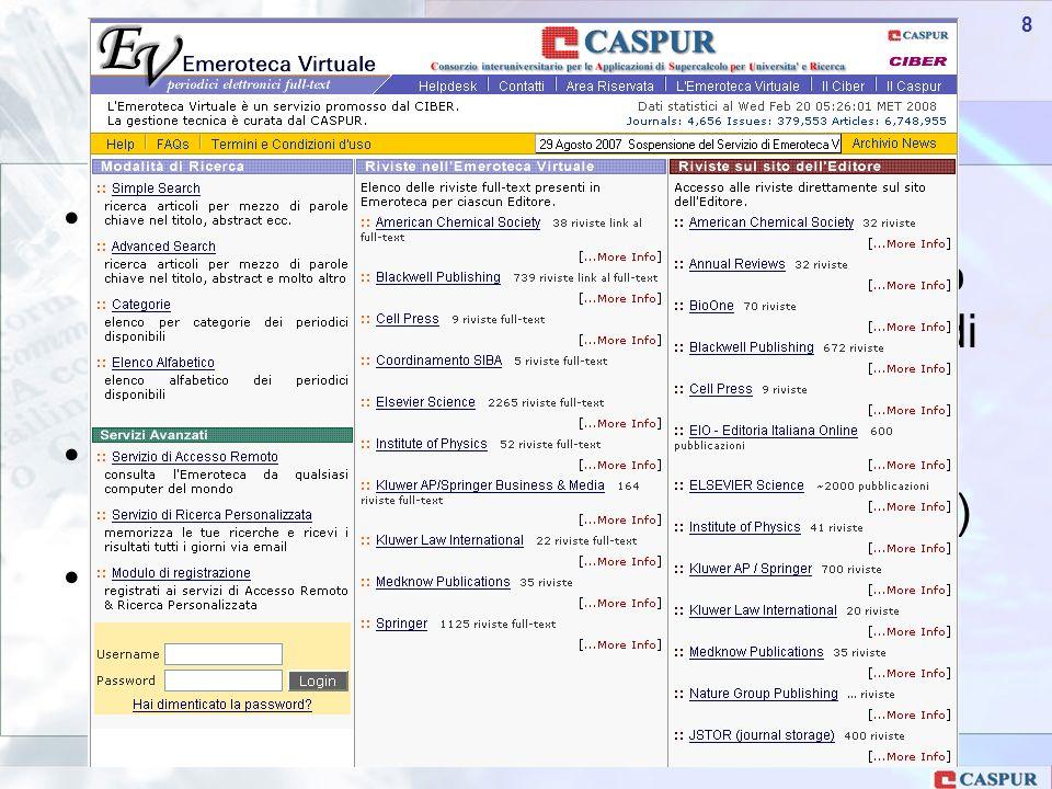 Carlo Maria Serio - c.serio@caspur.it 29 Camerino