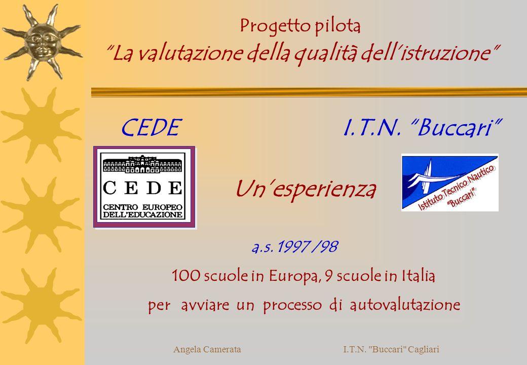 Angela Camerata I.T.N. Buccari Cagliari CEDE I.T.N.