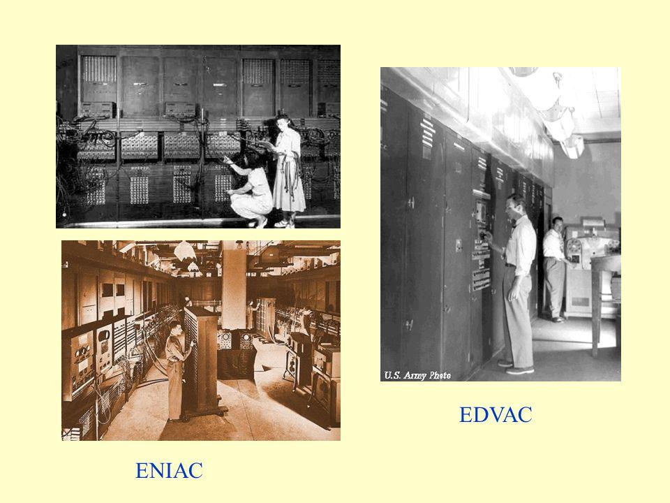 ENIAC EDVAC
