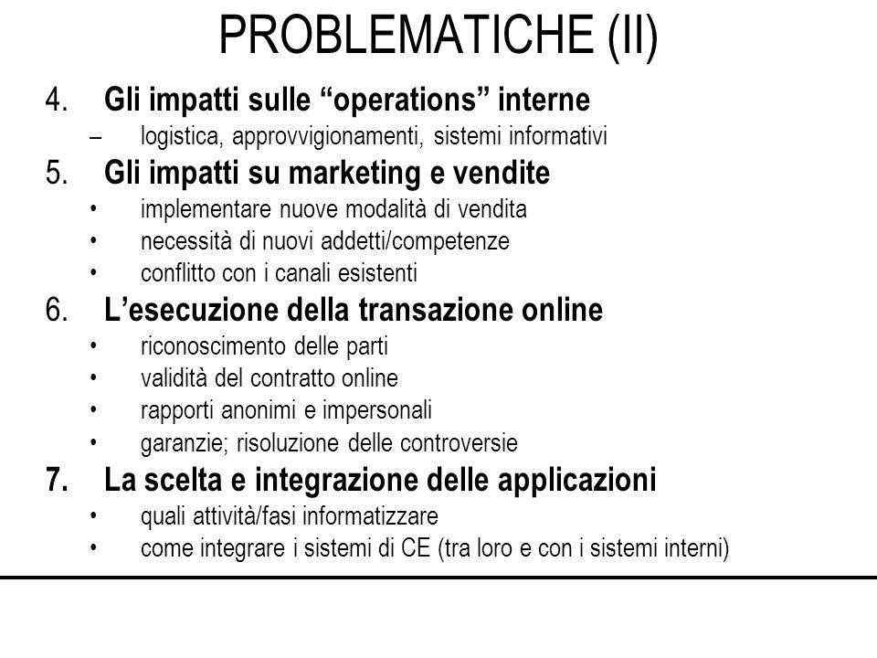 PROBLEMATICHE (II) 4.