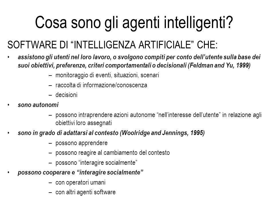 Software: semplice programma o agente.