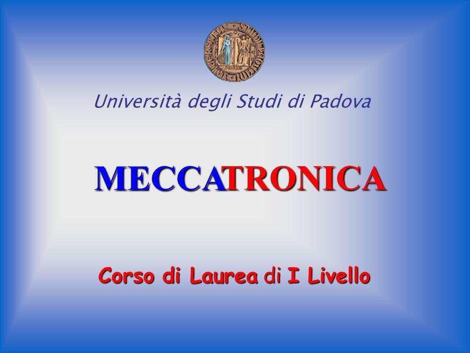 MECCA TRONICA TRONICA Corso di Laurea di I Livello Università degli Studi di Padova