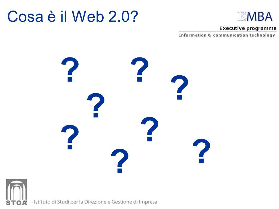 Impatto del web 2.0 sul comportamento dei consumatori CONSUMATORI?