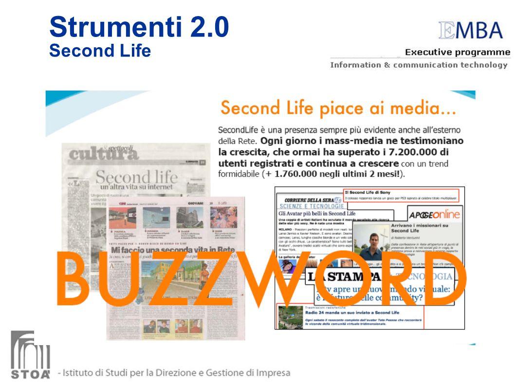 Strumenti 2.0 Second Life