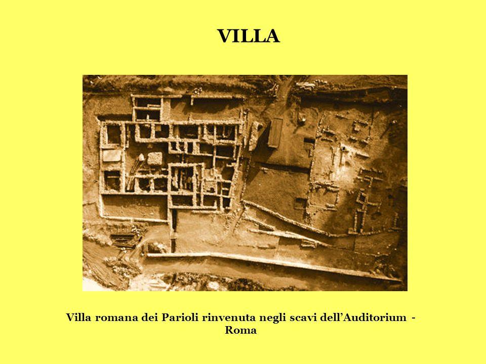 Villa romana di Correggio (RE) I-VI d.C. Villa romana di Caprara (RE) I-IV d.C. VILLA