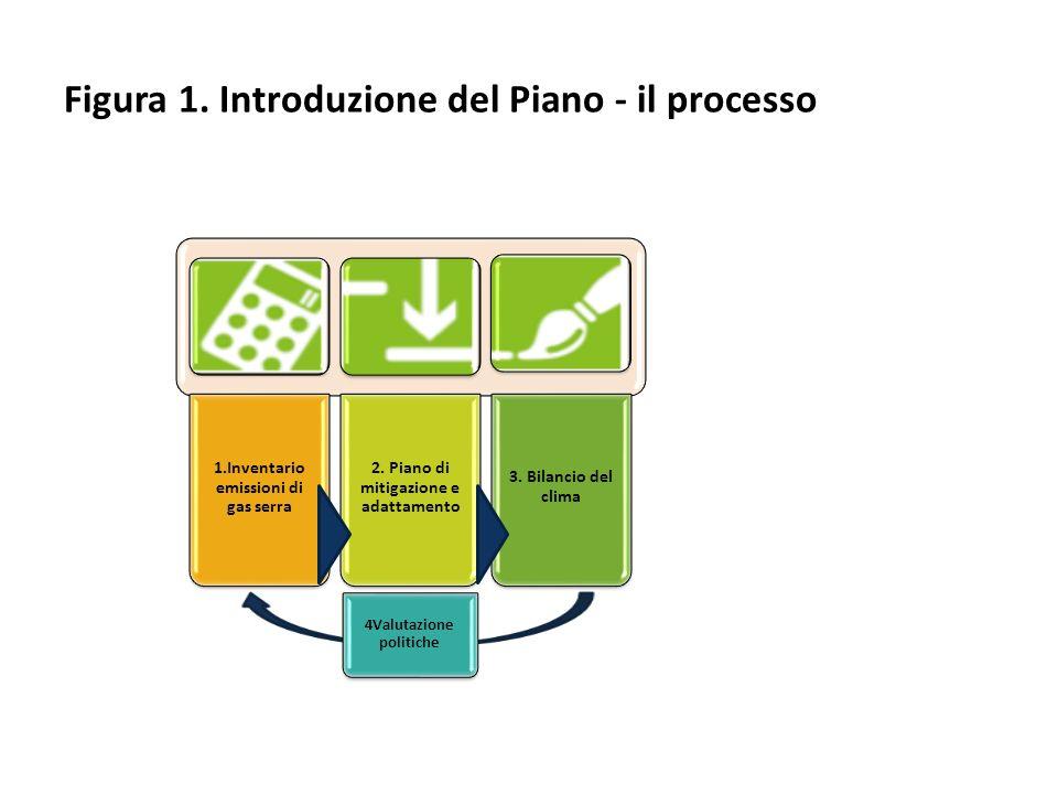 4Valutazione politiche Figura 1. Introduzione del Piano - il processo
