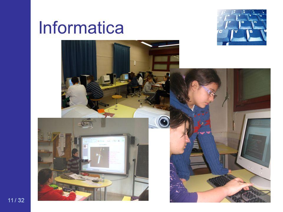 11 / 32 Informatica