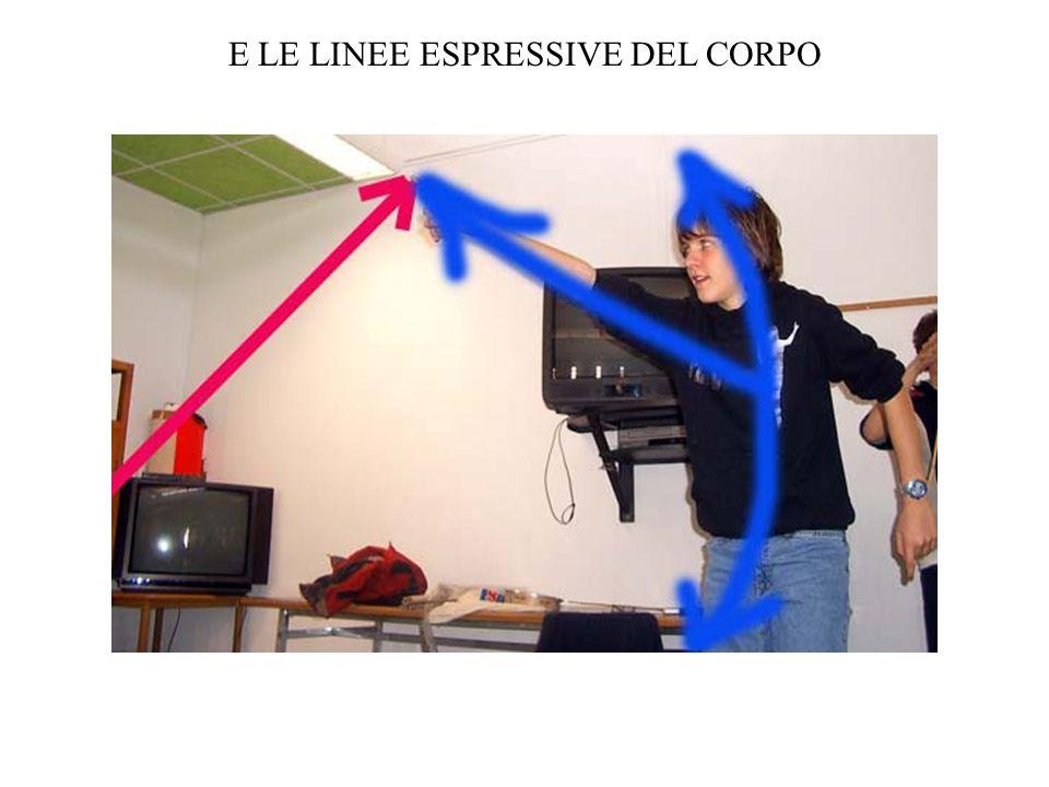 E LE LINEE ESPRESSIVE DEL CORPO