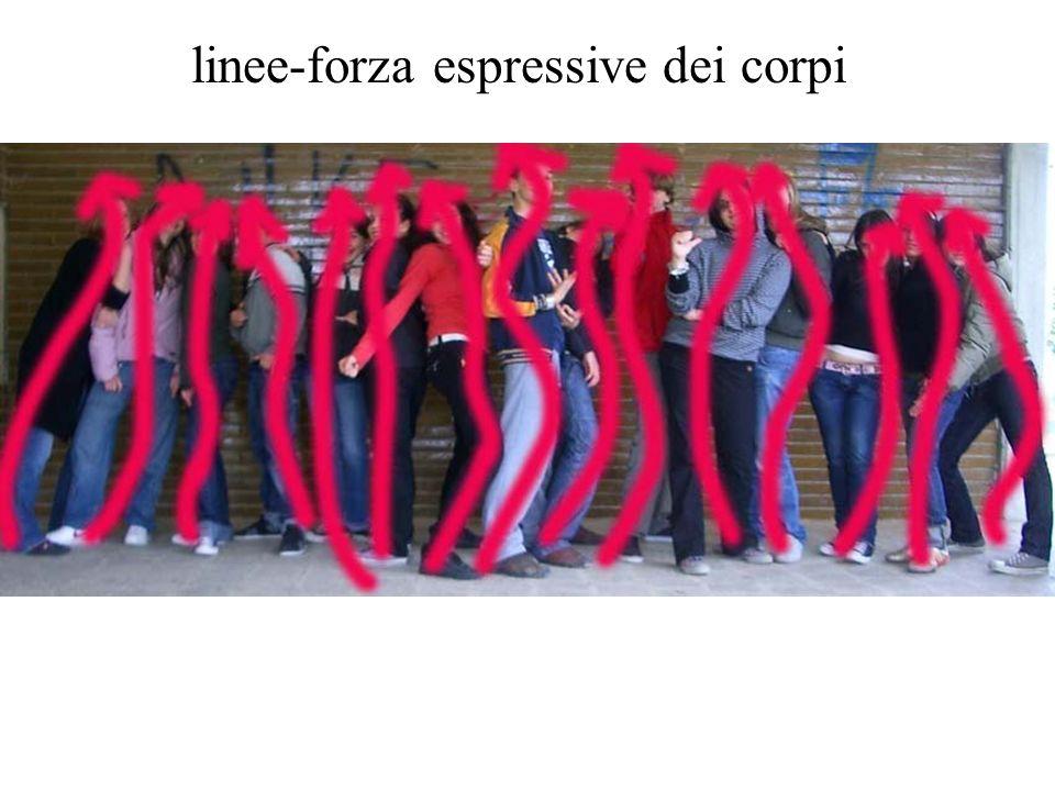 linee-forza espressive dei corpi