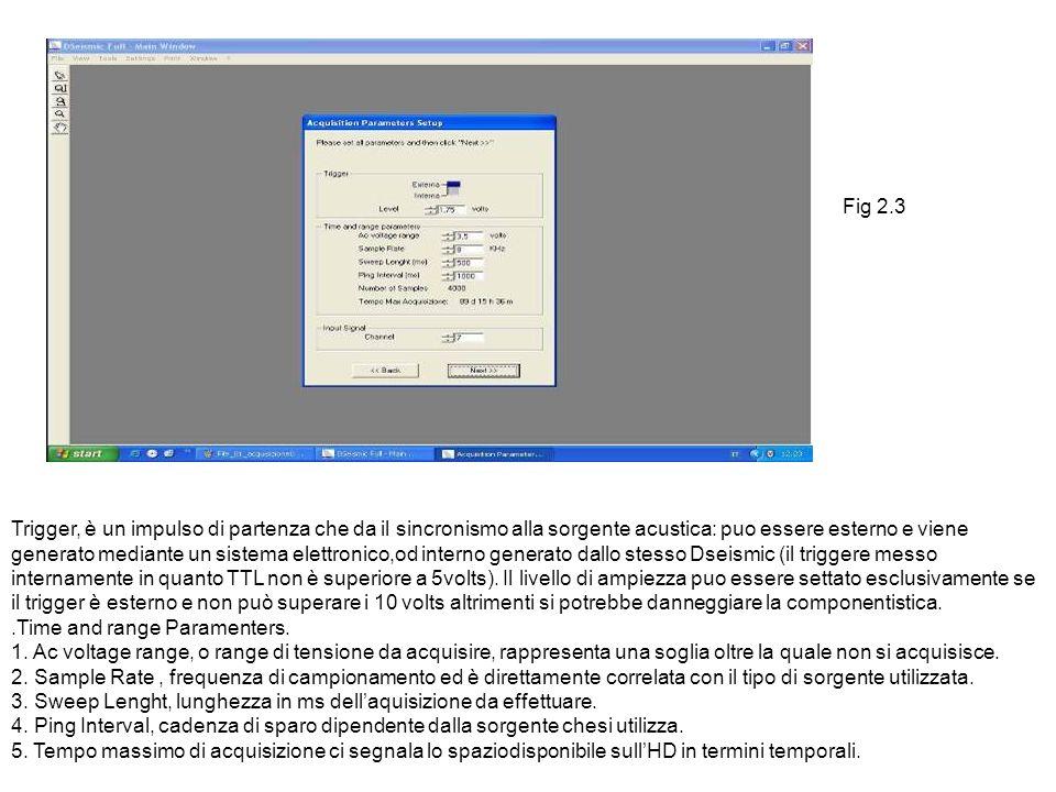 Menu Settings Il Menu setting ci da la possibilità di impostare le seguenti opzioni.fig 5.7 Display Analog Output Navigation date Reading Palette.dda Extension