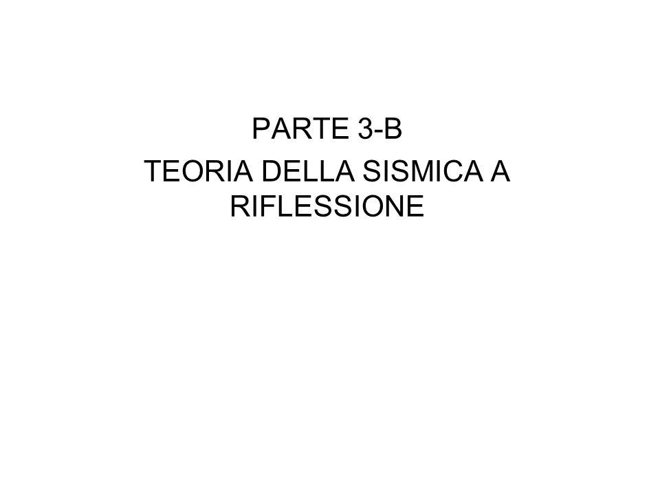 PARTE 3-B TEORIA DELLA SISMICA A RIFLESSIONE