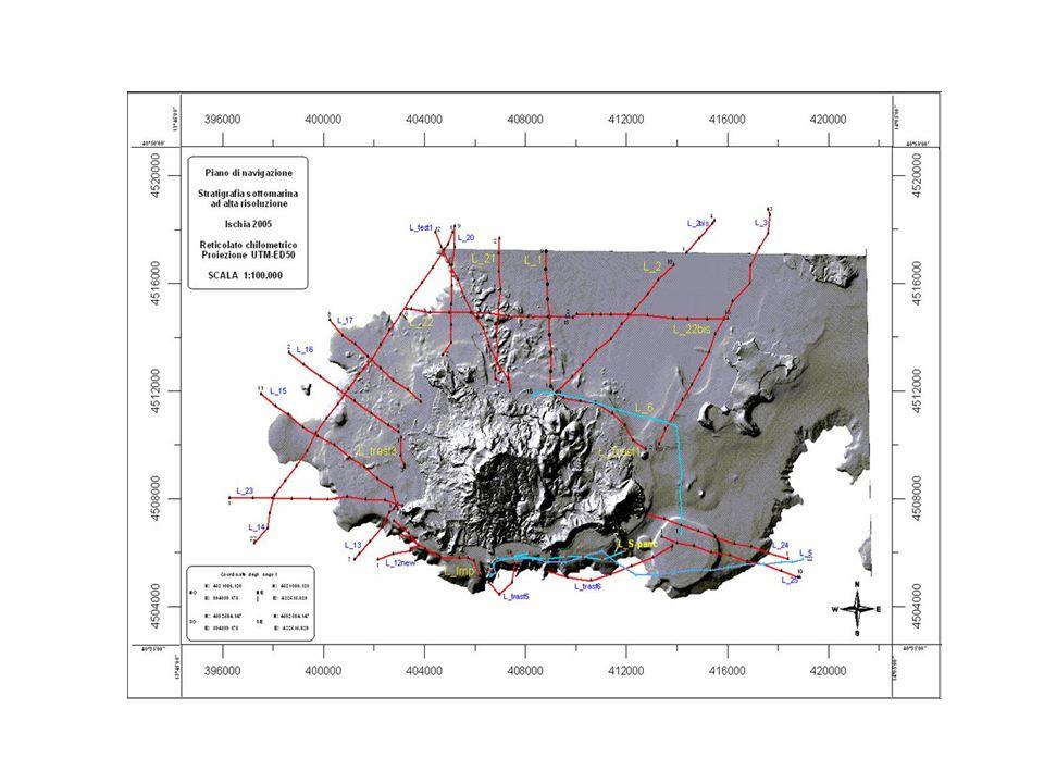 INTERPRETAZIONE GEOLOGICA Per l interpretazione geologica dei profili marini ci si è avvalsi dei risultati dei rilievi a terra e delle stratigrafie dei numerosi pozzi presenti nelle zone costiere.