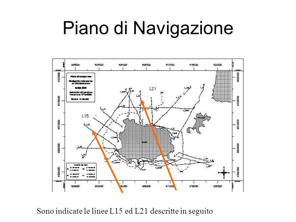 Interpretazione L15 Sezione geologica L15 terra