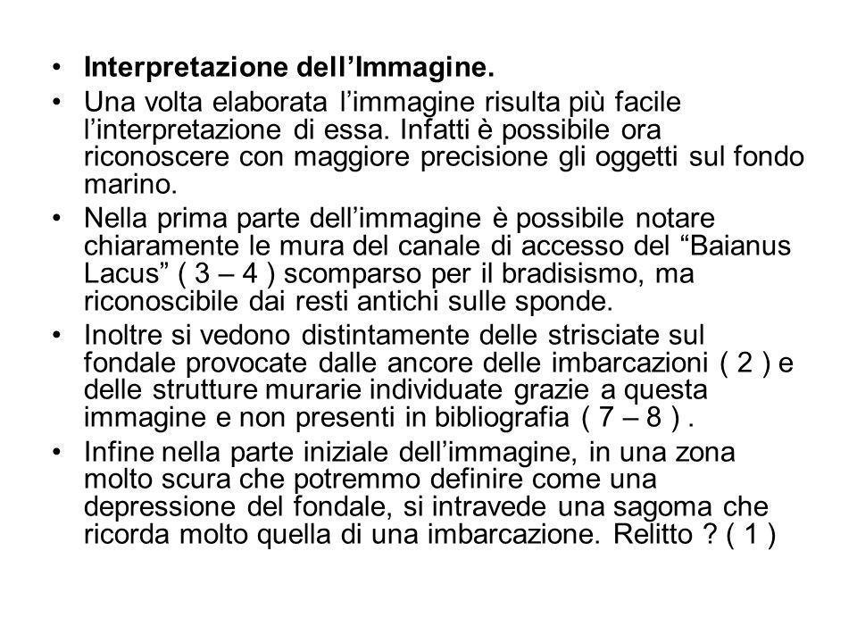 Interpretazione dellImmagine. Una volta elaborata limmagine risulta più facile linterpretazione di essa. Infatti è possibile ora riconoscere con maggi