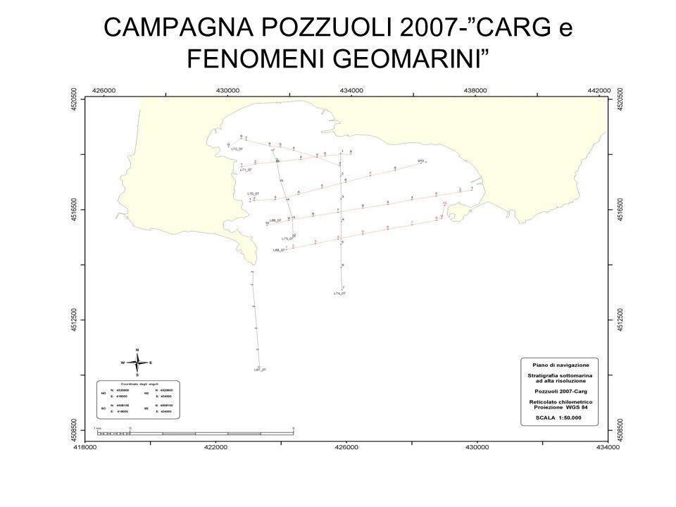 CAMPAGNA POZZUOLI 2007-CARG e FENOMENI GEOMARINI