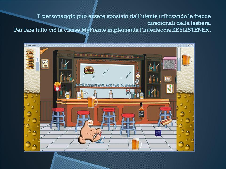 Menu principale Attraverso i pulsanti laterali è possibile visualizzare i punteggi, mostrare le istruzioni e, dopo aver inserito il proprio nome, avviare il gioco.
