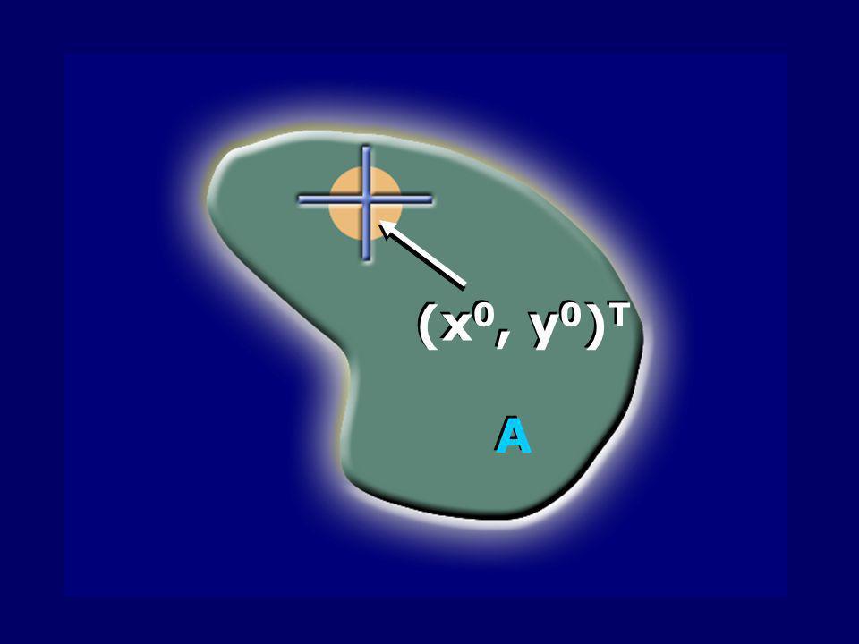 (x 0, y 0 ) T A A