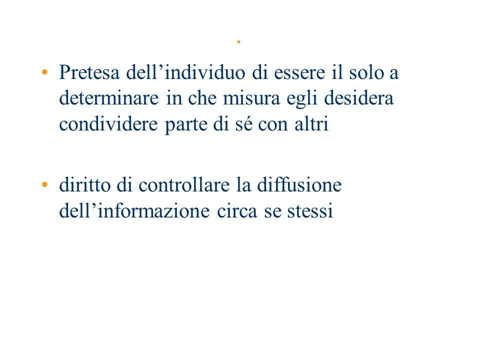 Il Garante per la protezione dei dati personali E unautorità amministrativa indipendente istituita dalla l.