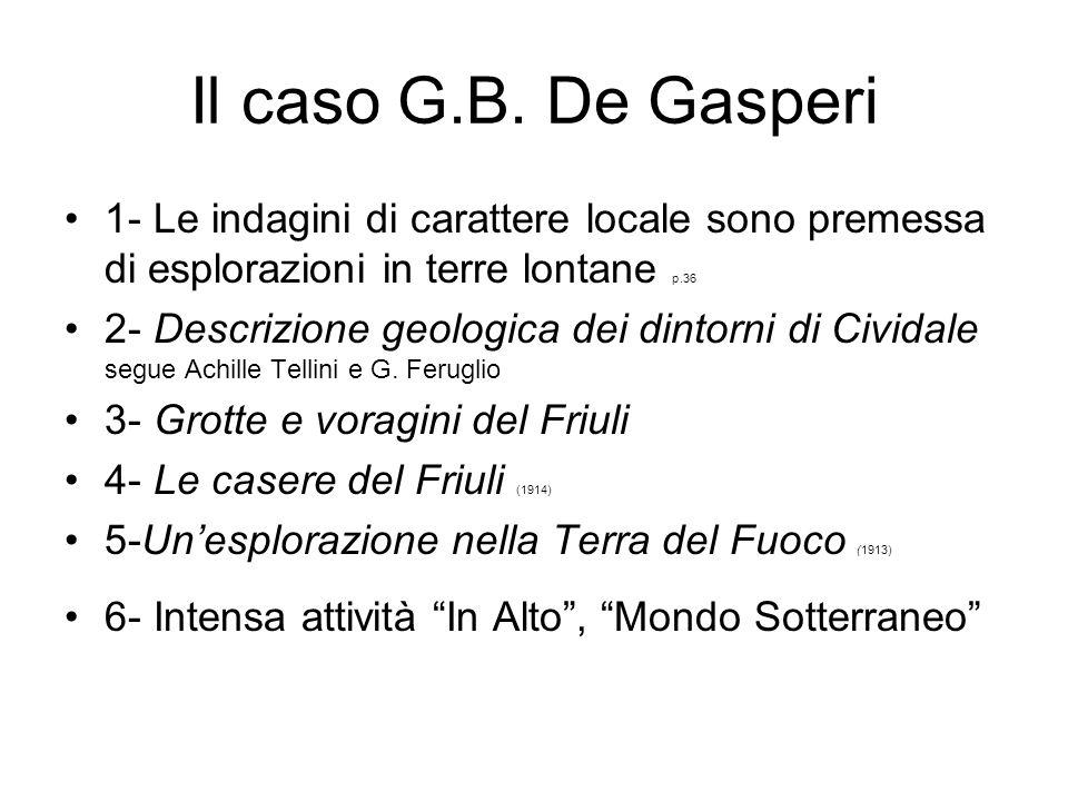 Il caso G.B.