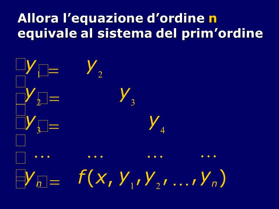 Accanto al sistema (3), detto completo, considereremo il sistema omogeneo Y A(x) Y (5) nel quale B(x) 0.