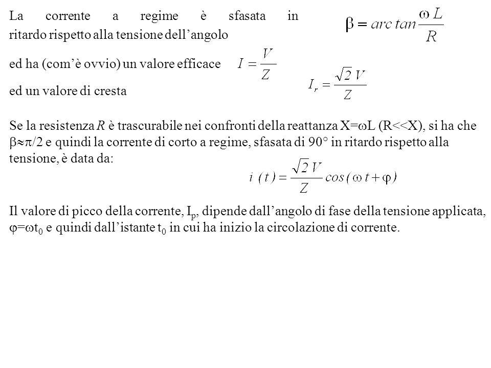 La relazione tra correnti e flussi concatenati può essere così riassunta, in forma sistemica ed in forma matriciale: In forma matriciale Se si considera il II° Kirchoff applicato alle maglie di ingresso e di uscita, si ottiene: