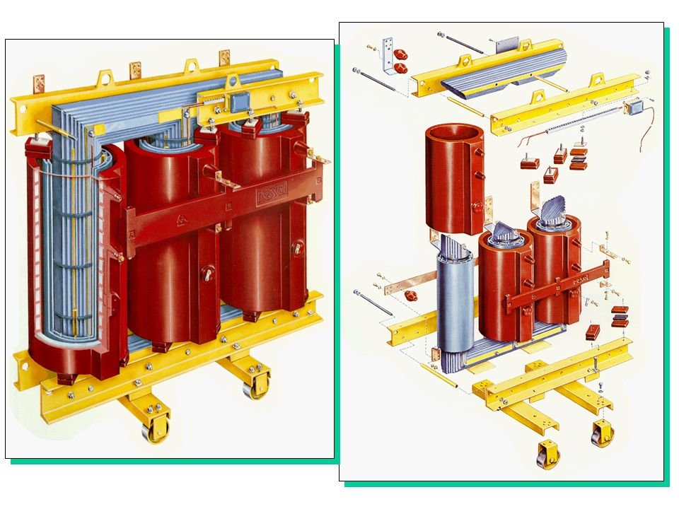 I vari tipi di trasformatori si differenziano anche per il tipo di raffreddamento utilizzato.