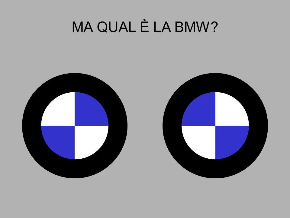 MA QUAL È LA BMW?